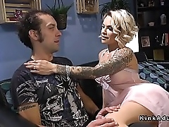 pretty good tranny Ts seduces government guy and anal fucks him