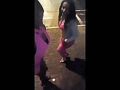 Black tranny lie in wait is a street hooker gets guys and fuck