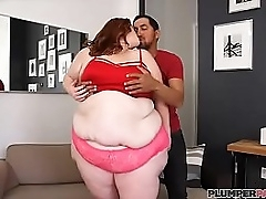 SSBBW Julie Ginger Gets Her First Taste Of Latino Cock