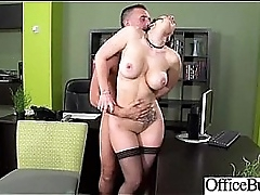 Hardcore Sex Tape Relating to Naughty Bigtits Girl In Office mov-11
