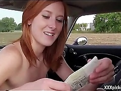 Public Sex With Naughty Amateur Euro Girl For Domineering 23