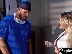 Kinky big boobs blondie nurse pounded in the hospital