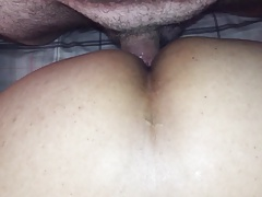 Asian cum slut trying to get preggo pt1